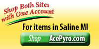Shop Ace Pyro for items in Saline MI