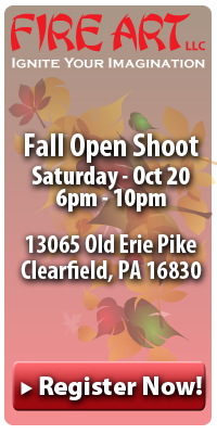 Fire Art Fall Shoot Oct 15