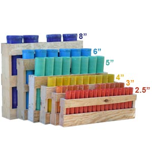 Wooden Mortar Racks